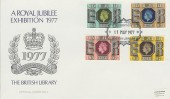 1977 Silver Jubilee, British Library No.2 Official FDC