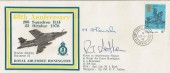 1976 60th Anniversary 208 Squadron RAF Honington Cover, Signed