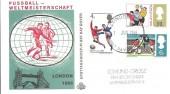 1966 World Cup, Scarce German Illustrated FDC, London EC FDI