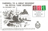 1969 Farewell to the 5th Royal Tank Regiment, Pair of Covers