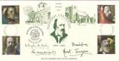 1992 Tennyson, Somersby Special FDC, Lincoln FDI