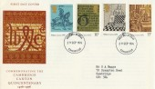 1976 Caxton Cambridge Quincentenary FDC, Cambridge FDI