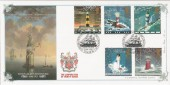 1998 Lighthouses, Bradbury VP120 Official FDC, Eddystone H/S