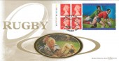 1999 Rugby World Cup, Benham D339 Cardiff Wales Official FDC