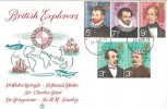 1973 British Explorers, Stuart FDC, Woolwich SDO SE18 cds. Not Listed!