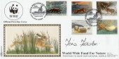 1992 Wildlife in Winter, Benham BLCS70 Official FDC. Signed by Fiona Fullerton.
