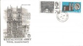 1966 Westminster Abbey, Stuart FDC, Church Road Burgess Hill cds. RARE