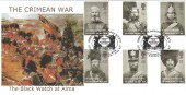 2004 Crimean War, Peter Payne, Black Watch at Alma Official FDC