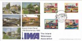 1993 Inland Waterways, Grand Union Canal, Bradbury LFDC116 Official FDC