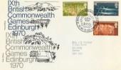 1970 IXth British Commonwealth Games Edinburgh Cover