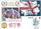 2002 World Cup Football Manchester United, Dawn Official Football FDC