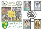 2002 The Queen Mother, Norwich City Club Centenary, Dawn Official FDC