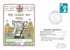 1976 The League Cup Final, Man City v Newcastle Utd. Scarce Football Cover