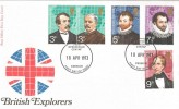 1973 British Explorers PO FDC Denbigh FDI