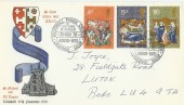 1970 Christmas Lilleshall Parish Church Official FDC