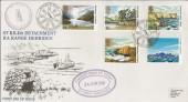 1981 National Trust St. Kilda Detachment RA Range Hebrides BFPO Official FDC