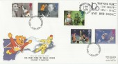 1996 Children's TV with Trafford Park Centenary Manchester Slogan FDC