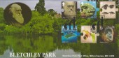 2009 Charles Darwin, Bletchley Park Official FDC, Bletchley Park Milton Keynes H/S