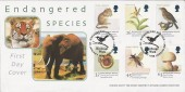 1998 Endangered Species, Birdcage Walk London SW1, Steven Scott Official FDC