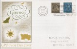 1968  4d & 5d Regionals, on a Matching Set of 6 GPO FDCs, Pick an English Worcester Slogan