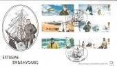 2003 Extreme Endeavours, Stick with Stamps Official FDC