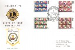 1979 European Elections, Lions Holiday 79 District Hayling Island Official Lions FDC
