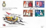 1975 Sailing,  RNLI Official Series Cover No.14 FDC, Philatelic Bureau H/S