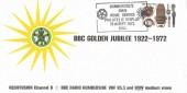 1972 BBC Radio Humberside Official FDC, Philatelic Display Hull H/S