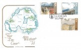 1971 Ulster Paintings, Cotswold FDC, First Day of Issue Belfast H/S