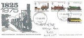 1975 Stockton & Darlington Railway, Conwy Valley Railway Museum FDC,  Colwyn Bay Clwyd FDI