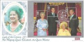 2000 Queen Mother, British Heritage Collections (BHC) Official Windsor FDC