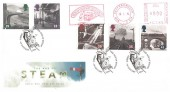 1994 Age of Steam, Royal Mail FDC, Nene Valley Railway Meter Mark