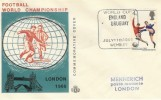 1966 England v Uruguay World Cup Match Cover