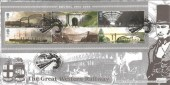 2006 Brunel, Bradbury Windsor Series Cover No.58 FDC