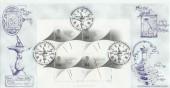 1999 Millennium Timekeepers Bradbury Greenwich Official FDC