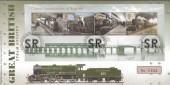 2011 Classic Locomotives of England Miniature Sheet, Royal Mail Lord Nelson Card