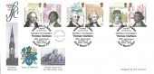 2007 Abolition of Slavery, Thomas Clarkson Wisbech, Official Fenland Stamp Club FDC