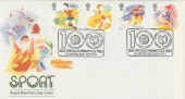 1988 Sport, Royal Mail FDC, British Gymnastics Slough H/S