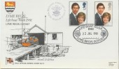 1981 Royal Wedding, RNLI Lyme Regis Dorset Official FDC
