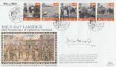 1994 D-Day, Benham The Mail, 50th Anniversary of Operation Overload. The Taking of Pegasus Bridge H/S. Signed by Major John Howard