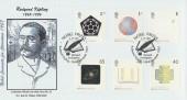 2001 Nobel Prizes, Phil Sheridan, Rudyard Kipling Official FDC, Burwash Etchingham H/S