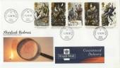1993 Sherlock Holmes Royal Mail FDC Baker Street cds