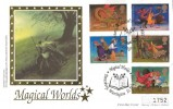 1998 Magical Worlds, Gandalf Official FDC, Magical Worlds Daresbury Warrington H/S