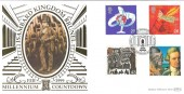 1999 Travellers' Tale, Isambard Kingdom Brunel, Paddington Station, Benham Gold 500 Official FDC