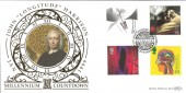 "1999 Inventors' Tale, John ""Longitude"" Harrison, Foulby Wakefield, Benham Gold 500 Official FDC"