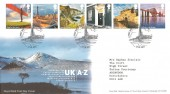 2011 A-Z of Britain Part 1, Pair of Royal Mail FDC's. First Day of Issue Blackpool H/S