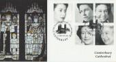 2002 Queen's Golden Jubilee, Steven Scott Official FDC, Golden Jubilee Canterbury Kent H/S