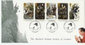 1993 Sherlock Holmes Society Covercraft Official FDC.