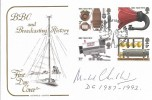 1972 BBC, Cotswold FDC, First Day of Issue London W1 H/S. Signed by Michael Checkland, Director General 1987 - 1992