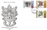 1971 General Anniversaries, Borough of Barnstaple FDC, Barnstaple FDI